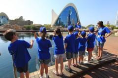 Escuela de verano 2015 en la Ciudad de las Artes y las Ciencias de Valencia