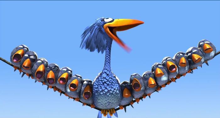 cortometraje: for the birds