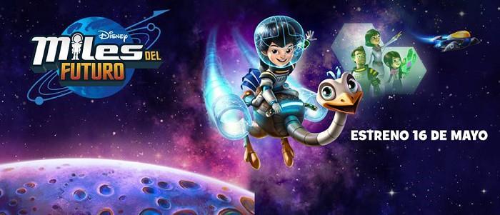 Disney estrena nueva serie: Miles del Futuro