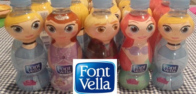 Font Vella presenta nuevas botellas Font Vella Kids