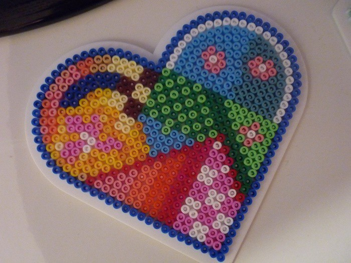 Manualidades con fused beads