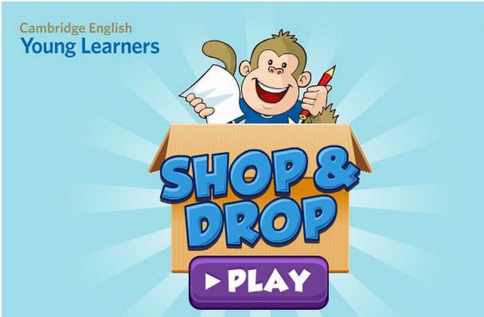 Aprende inglés... jugando a comprar