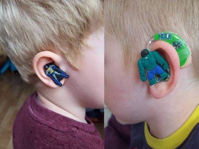 audifonos infantiles superheroes
