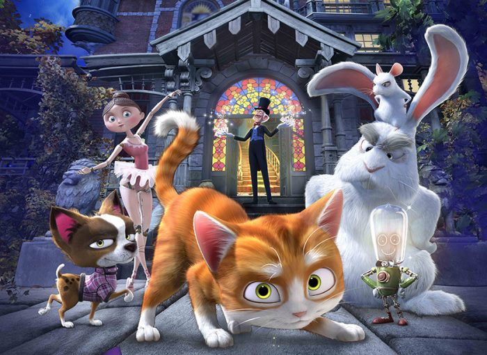 cine: la casa mágica