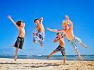 Dona su chalé en la playa para las vacaciones de niños sin recursos