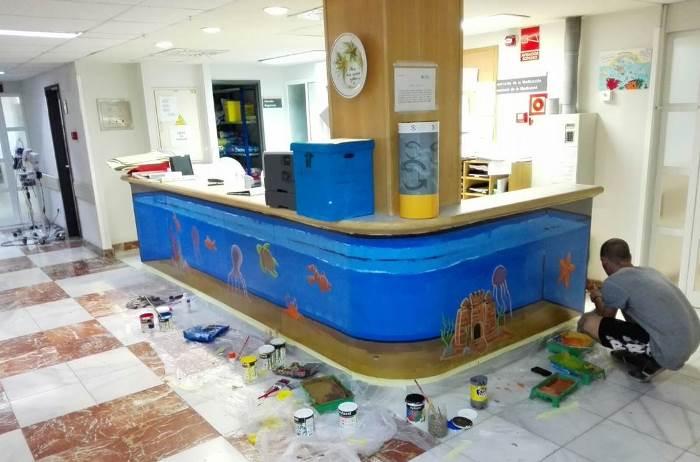 pinturas oncologia hospital Alicante