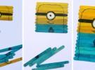 Manualidades infantiles: Puzzle de los Minions