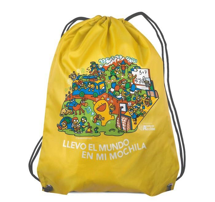 La mochila que lleva buenas noticias
