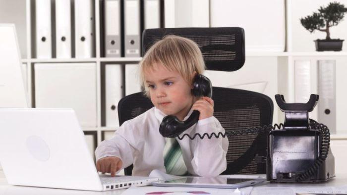 niños sus jefes