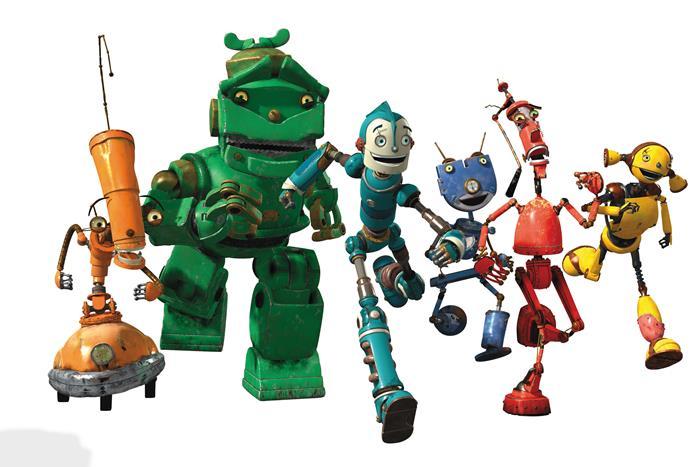 television robots