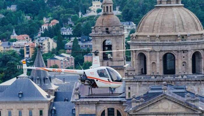 vuelos helicoptero madrid