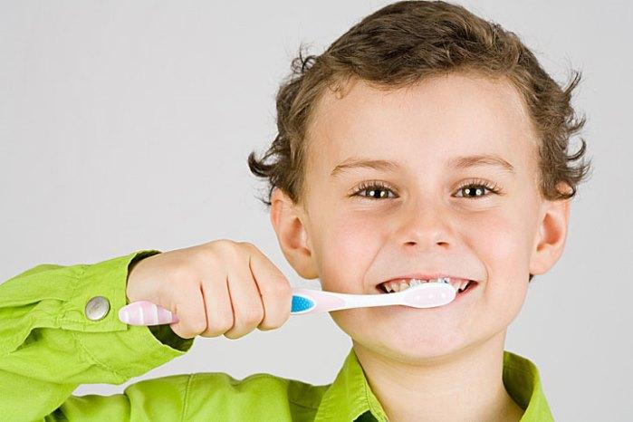 higiene dental y niños españoles