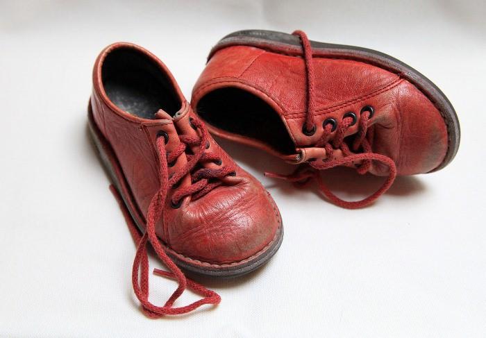 zapatos usados niños