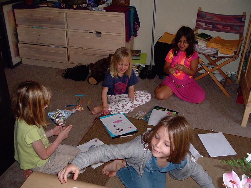 Sus primeras fiestas de pijamas con amigos