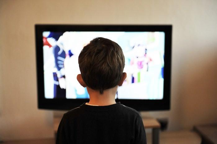 televisiones y niños