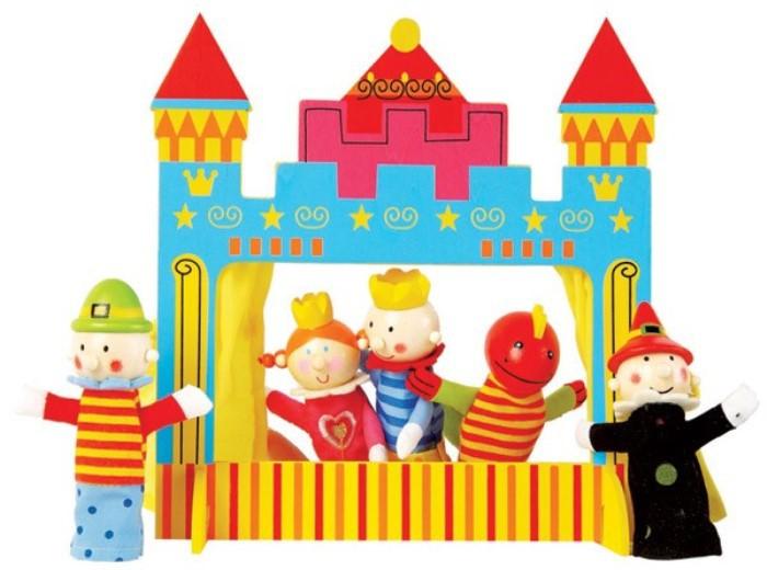 Teatrillo de marionetas