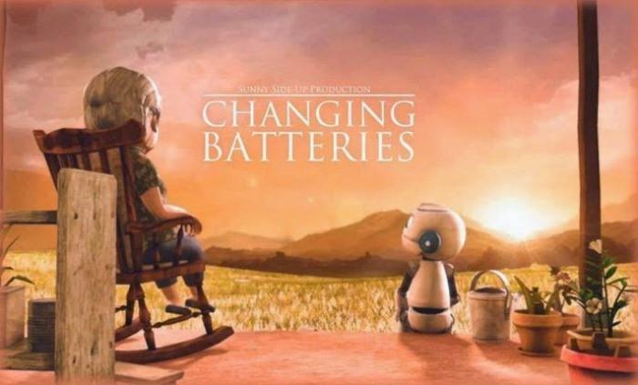 cortometraje: cambio de pilas