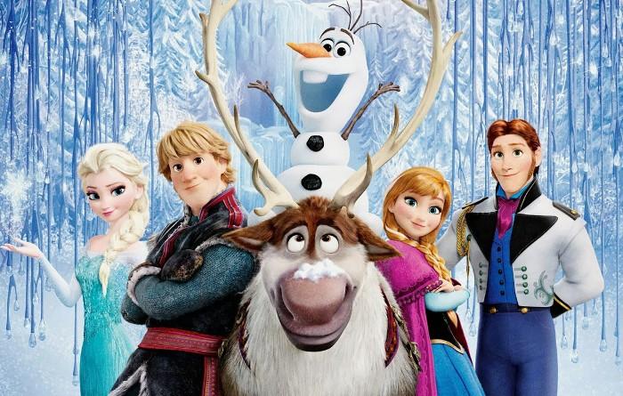 frozen el reino del hielo en television