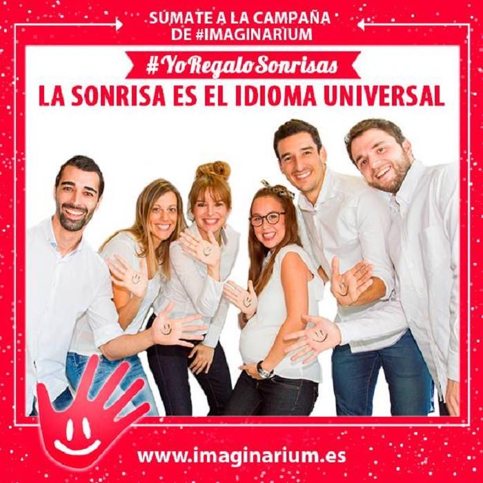 Yo regalo sonrisas, campaña solidaria de Imaginarium