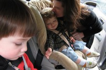 Sillas infantiles para el coche: la seguridad ante todo