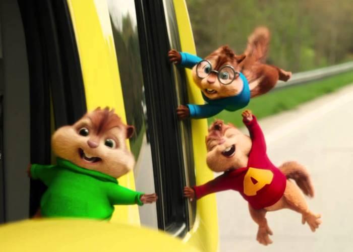 Alvin y las ardillas fiesta sobre ruedas