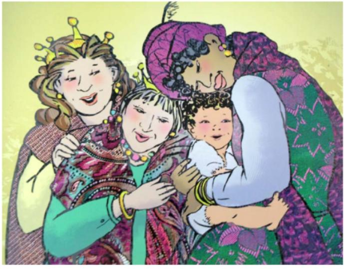 lectura las tres reinas magas