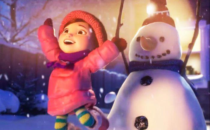 corto: Lily & the snowman