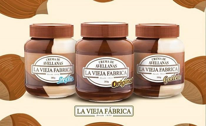La Vieja Fábrica presenta sus nuevas cremas de avellanas