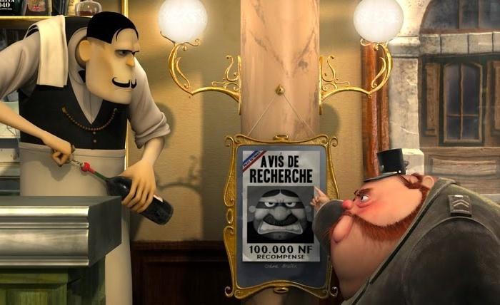 cortometraje French Roast