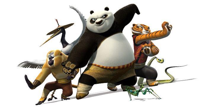 kung fu panda en television