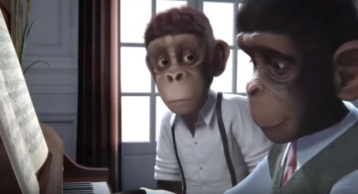 corto: sinfonia de monos