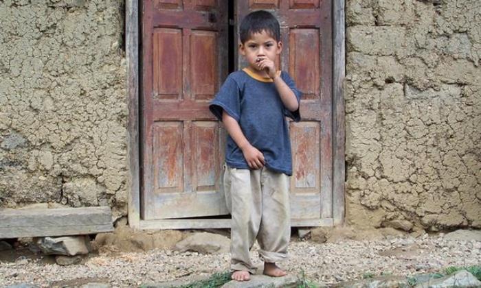 niños pobres españoles