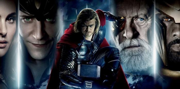 Thor la pelicula en television
