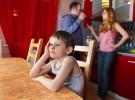 Los perjuicios de discutir delante de los niños