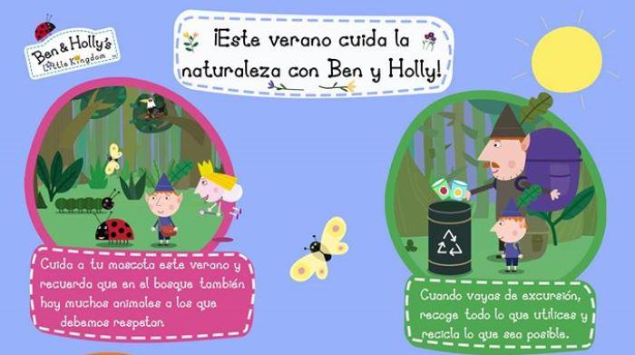 Cuidar la naturaleza con Ben y Holly