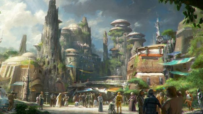 Star Wars en el parque Disney
