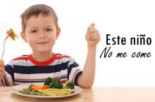 Este niño no come: camuflaje con ketchup y platos con trampa