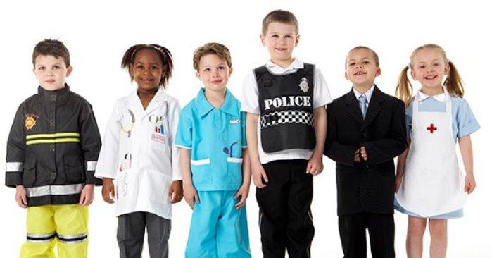 profesiones niños españoles