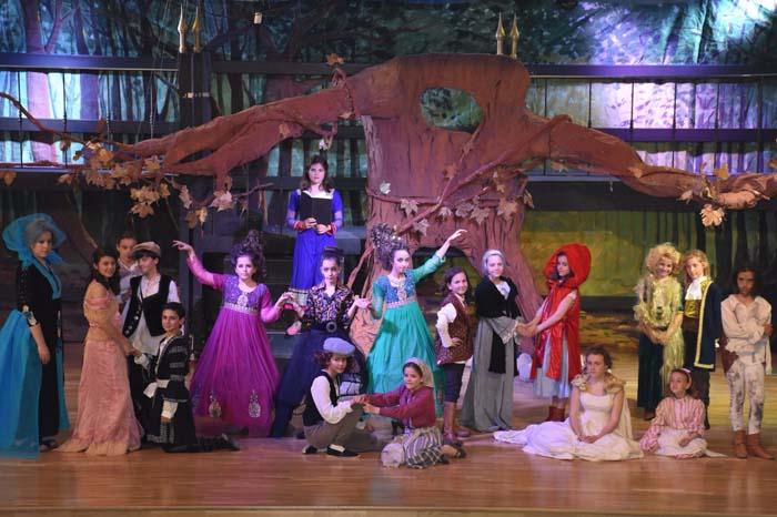 Into the woods en el teatro sanpol