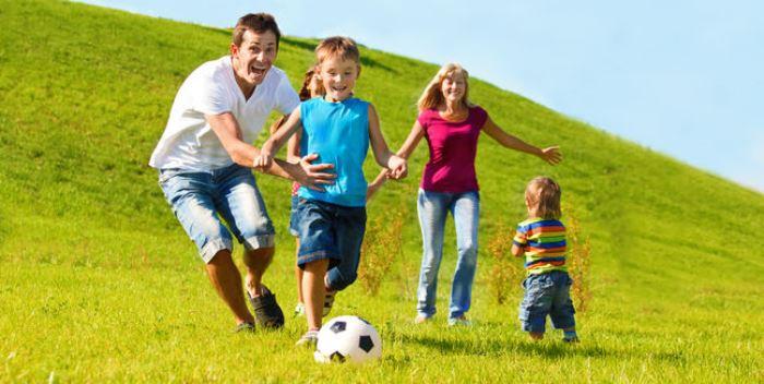 hacer deporte en familia