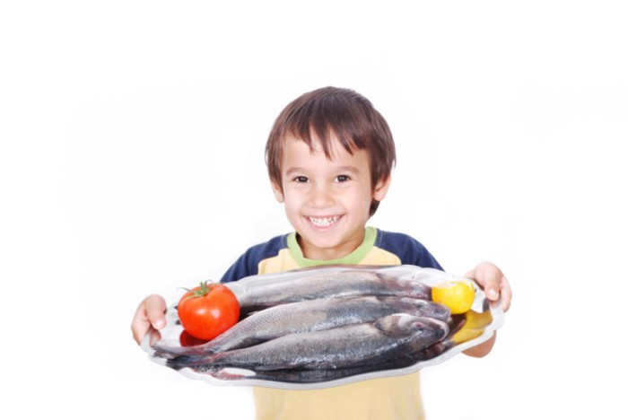 mercurio, pescado y niños