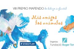 Concurso de dibujo infantil Mapendo: Mis amigos los animales