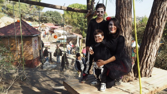 halloween barcelona con niños