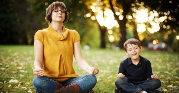 meditar con los niños