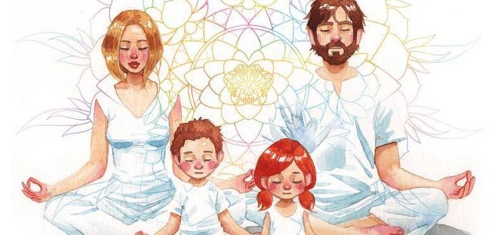 meditando todos juntos