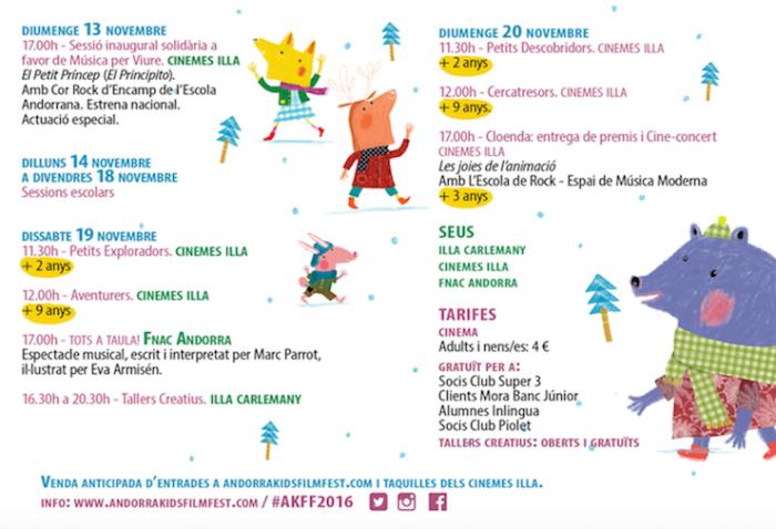 Andorra kids film festival 2016