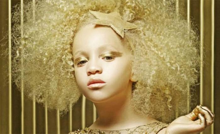 Ava Clarke, la niña albina que ha revolucionado el mundo de la moda