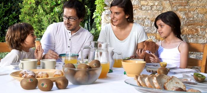 Desayunar en familia