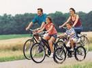 Los beneficios de montar en bici con la familia