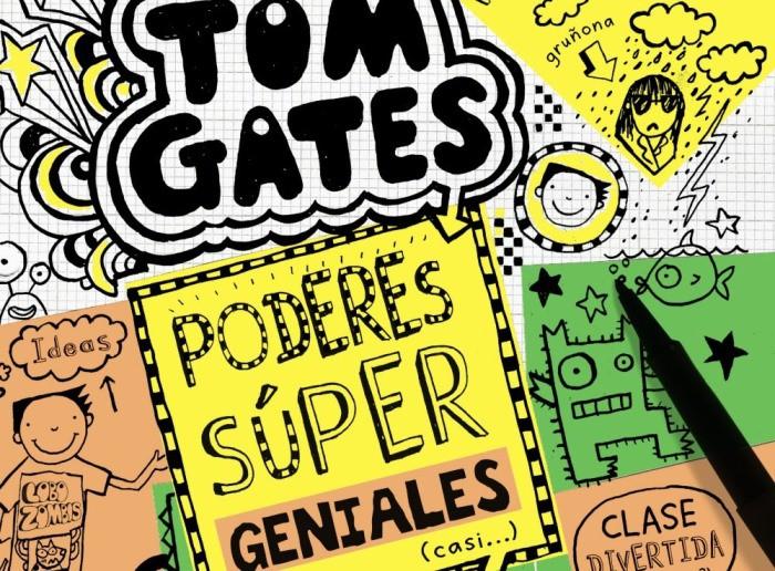 Tom Gates poder super geniales